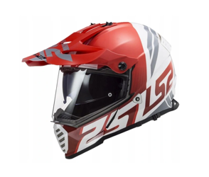 KASK LS2 MX436 PIONEER EVO EVOLVE RED WHITE L